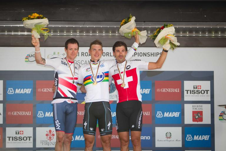 Worlds TT podium 2013 (picture credit Toscana 2013)