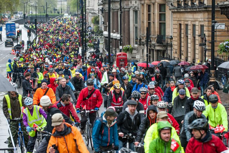 Big Ride London (from London Cycling Campaign)