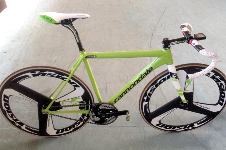 cannondale  caad10 track bike