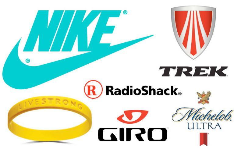 Lance Armstrong sponsors