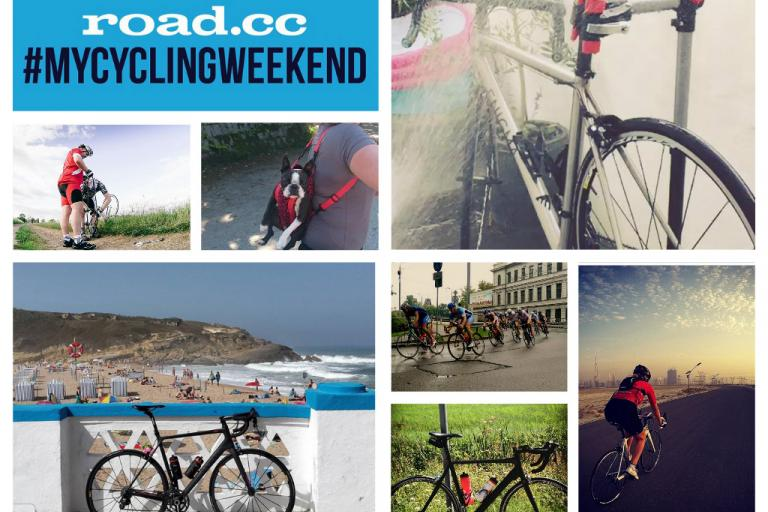 mycyclingweekend 22 collage
