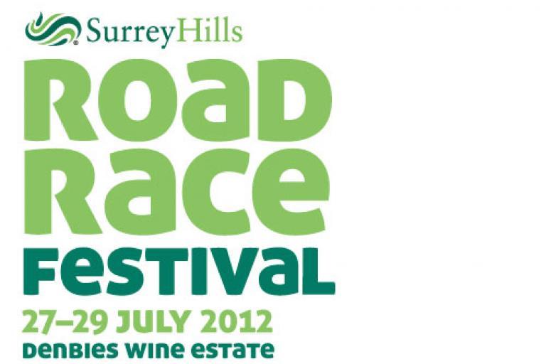 Surrey Hills Road Race Festival logo
