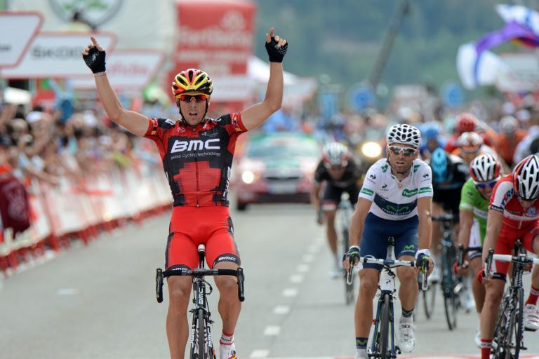 vuelta 2012 S19 Philippe Gilbert wins (copyright Unipublic:Graham Watson)