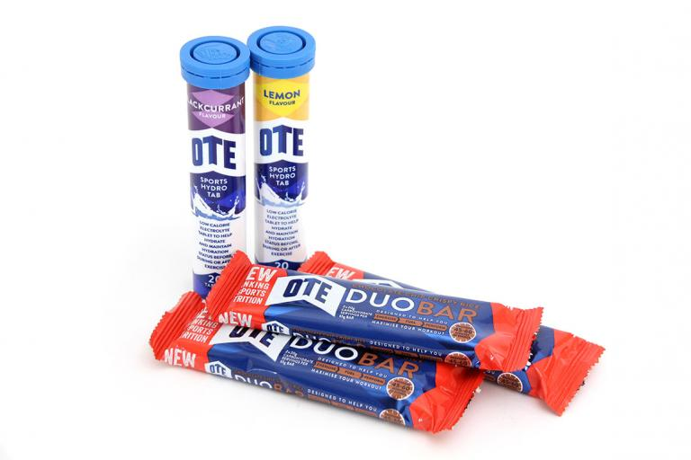 OTE Sports Hydro Tabs and Duo Bars