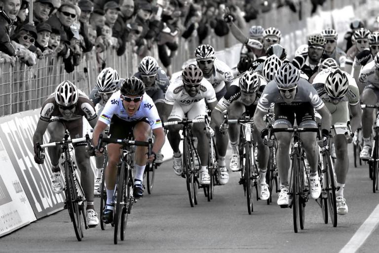 Cavendish sprinting