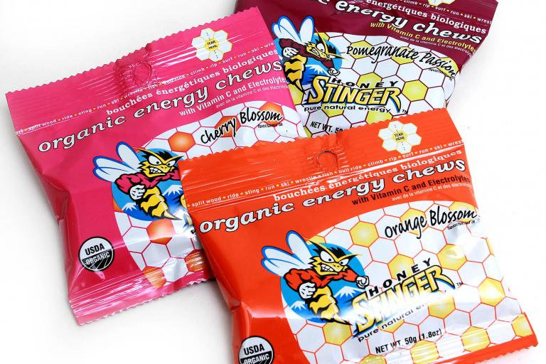 Honey Stinger organic energy chews