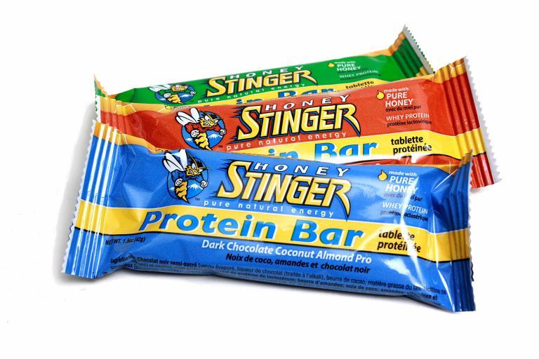 Honey Stinger protein bar