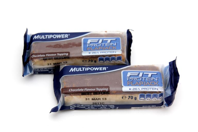 Multipower Fit Protein Flapjack - choc