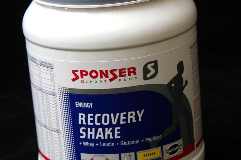 Sponser recovery shake