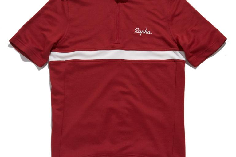 Rapha SS09_ClubJerseyRedFront