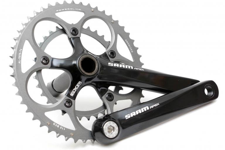 SRAM Apex groupset - chainset