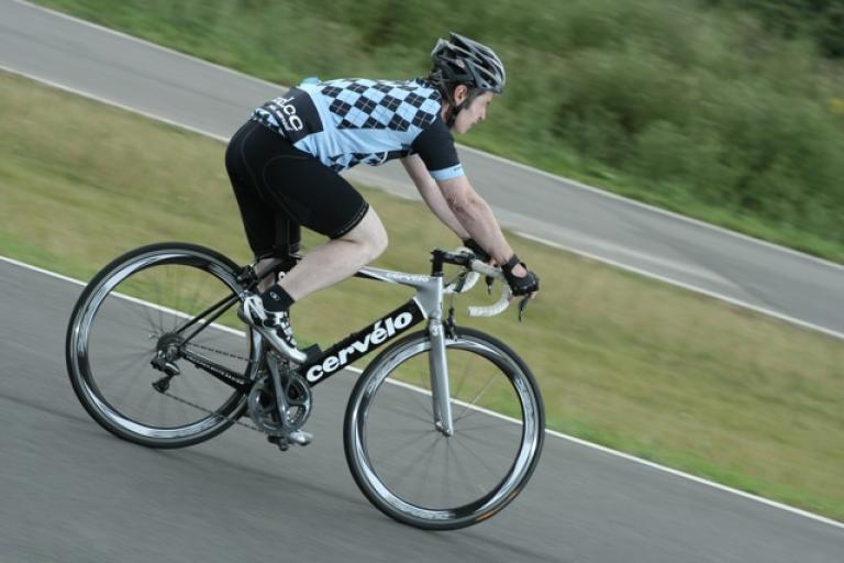 Shimano Dura Ace Di2 riding