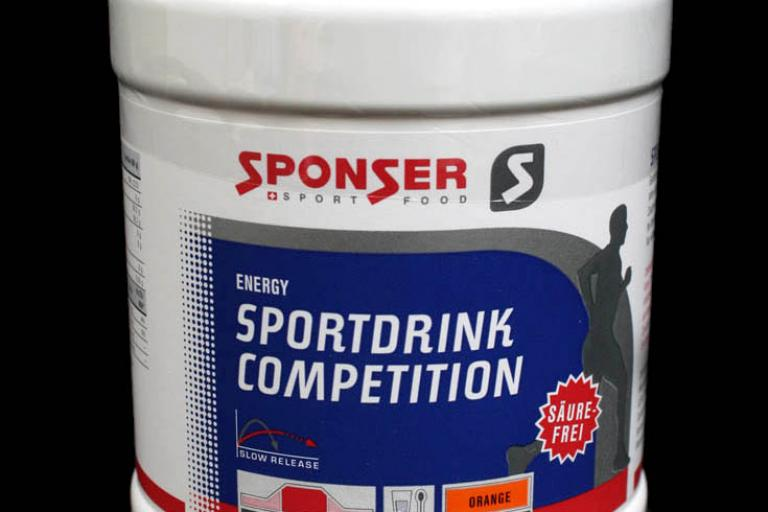 Sponser Sport Food Energy Sportdrink Competition
