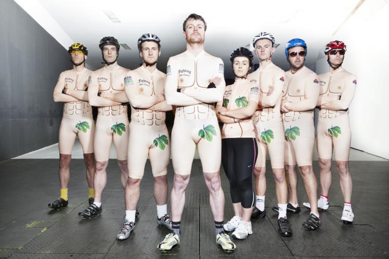 Team Near Naked Man (photo Ben Roberts)