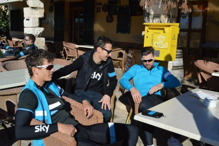 Team Sky Rapha training kit
