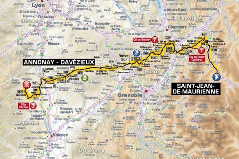 TDF 2012 S12 map