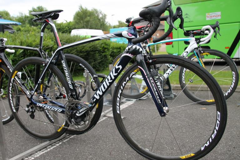 Vincenzo Nibali bike side