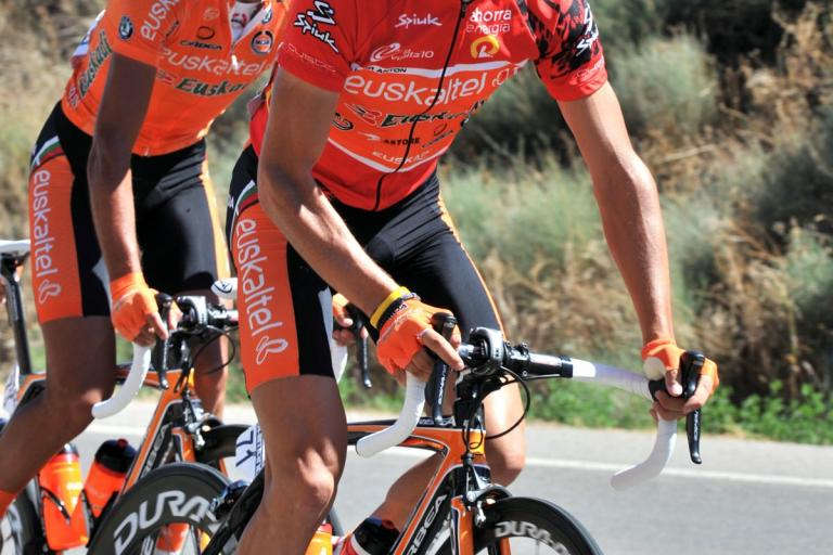 Igor Anton during Stage 13 of the Vuelta (copyright Unipublic:Graham Watson)