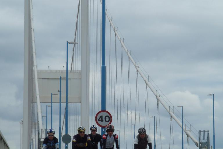 Severn Bridge Sportive recce 3