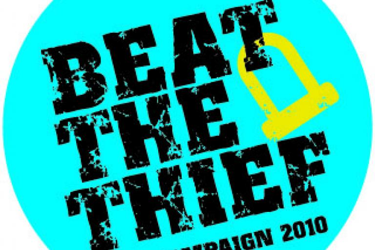 Beat the thief logo
