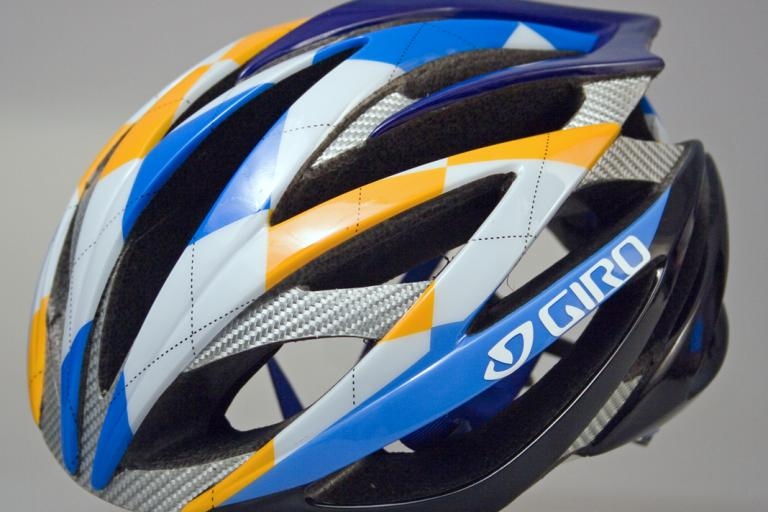 Giro Ionos Ltd edition: Garmin-Chipotle Blue-White3