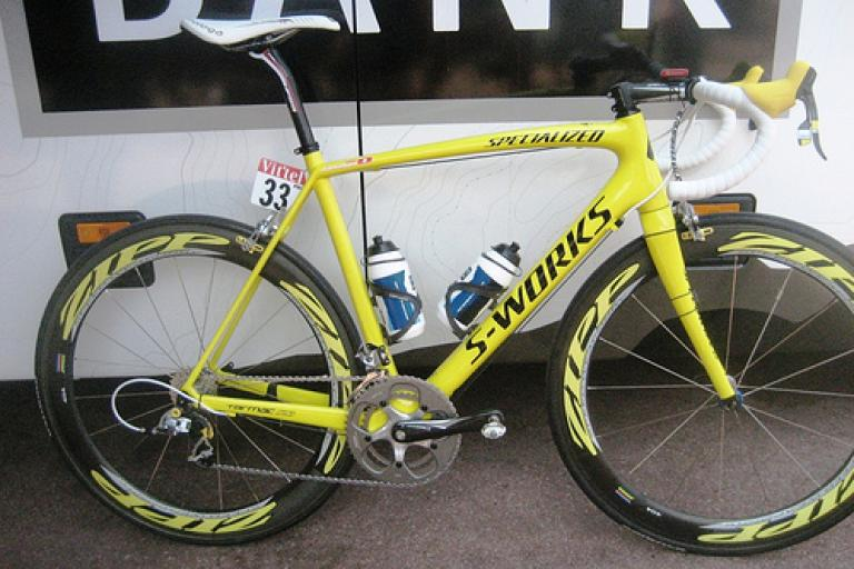 cancellara yello sl3 - full bike