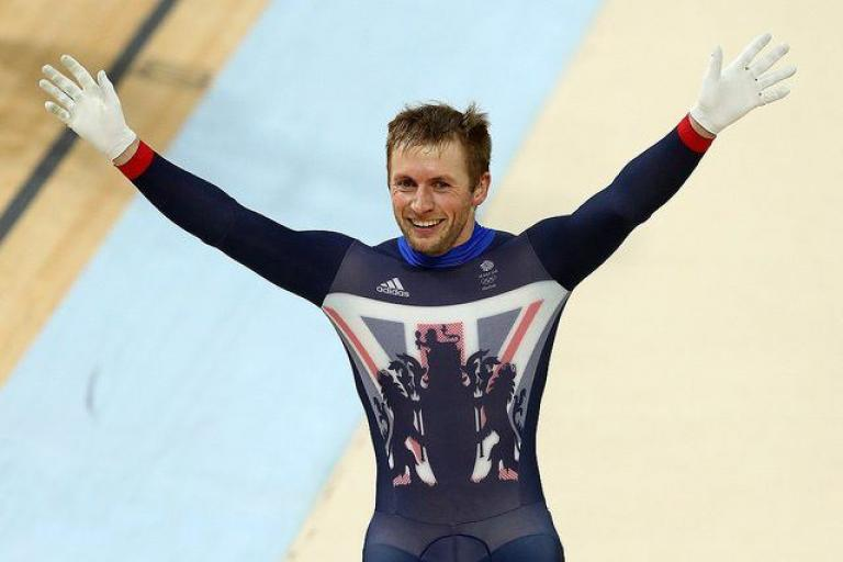 Jason Kenny after winning the keirin at Rio 2016 (copyright Britishcycling.org_.uk).jpg