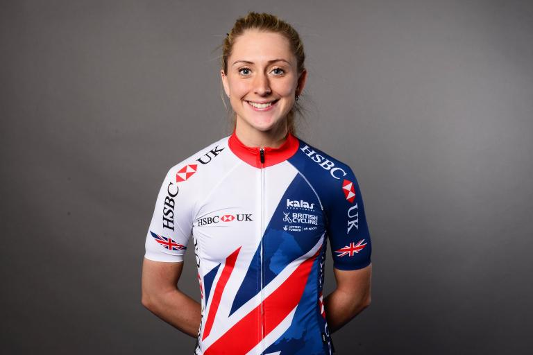 Laura Kenny in 2017 Great Britain Cycling Team kit.jpg