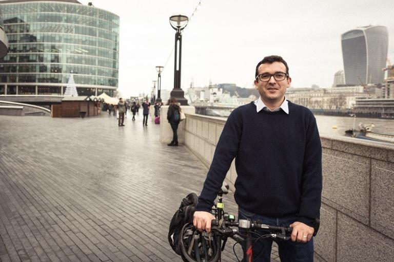 London's Walking and Cycling Commissioner, Will Norman.jpg