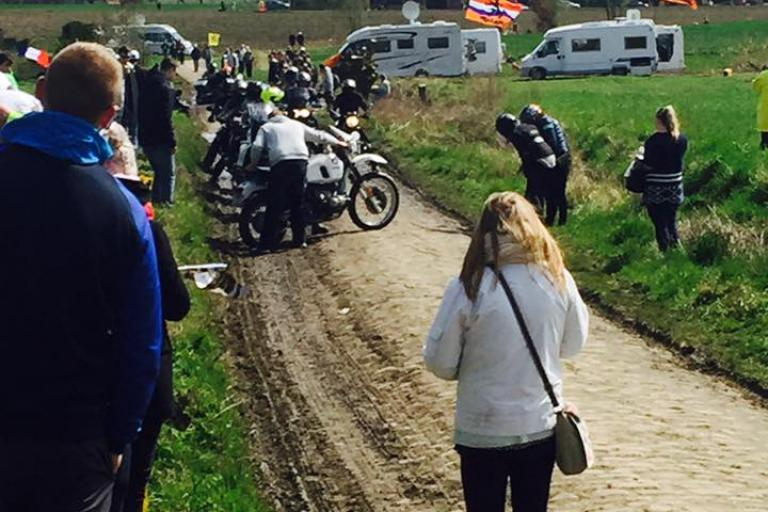 Mons en Pevele Cancellara crash site 01 (copyright Matthew Evans).jpg