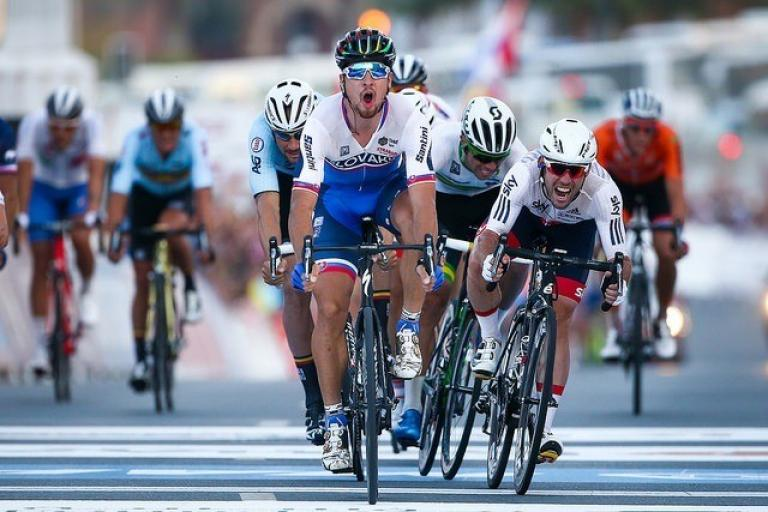 Peter Sagan wins 2016 road worlds (pic by Alex Whitehead, SWpix.com via Britishcycling.org_.uk).jpg
