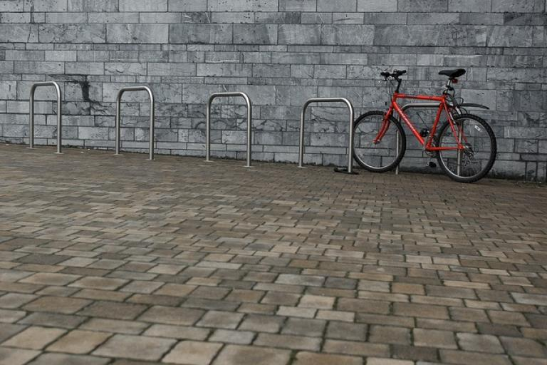 Plymouth bike rack (CC licensed by Tim Peters via Flickr).jpg