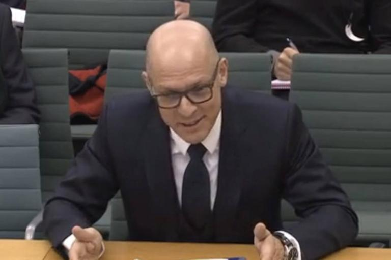 Sir Dave Brailsford gives evidence to the Culture, Media and Spot Select Committee (Parliamentlive.tv).jpg