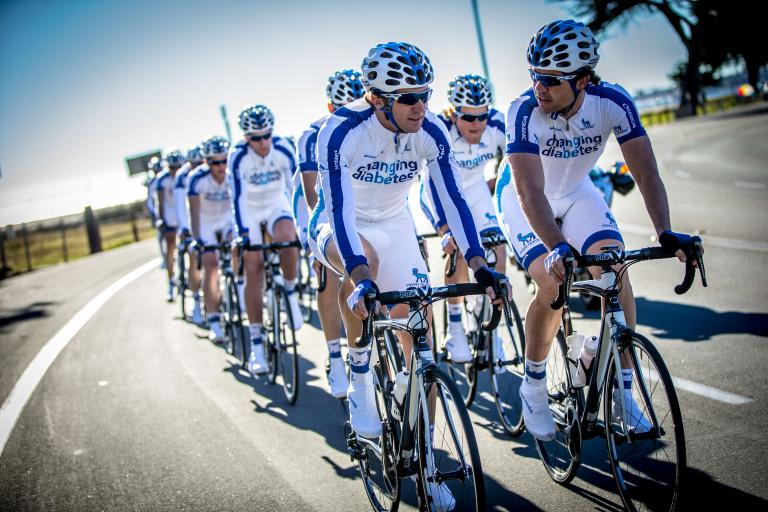 Team Novo Nordisk - Diabetic Cycling Team - image CC licensed by Team Novo Nordisk.jpg