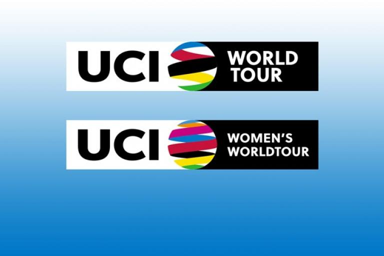 UCI WorldTour and UCI Women's WorldTour logos for 2016.jpg