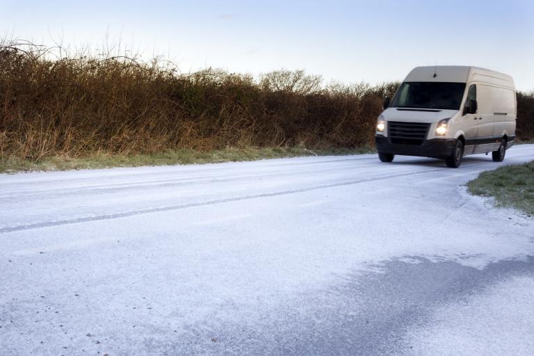 Van on icy road (IAM).jpg