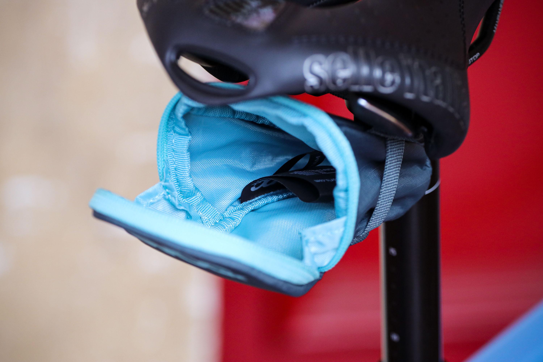 NEW EVOC SADDLE BAG S Bicycle Under Seat Storage Pack 0.3L BLACK