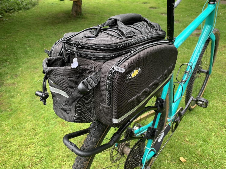 Topeak Mtx Trunkbag Dx Black Trunk Bag Bike Bicycle Expanding Rack 3M