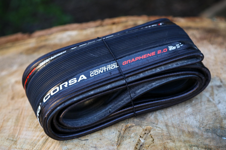 Vittoria Corsa Control G2 700x25C TLR Full Black