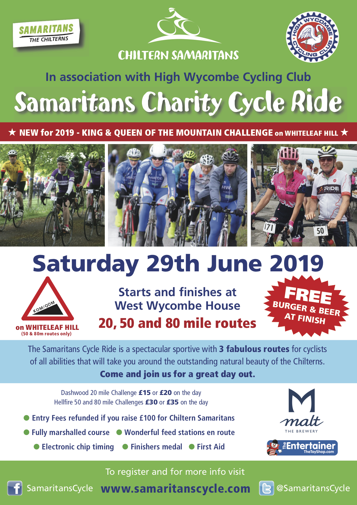 Samaritans Cycle
