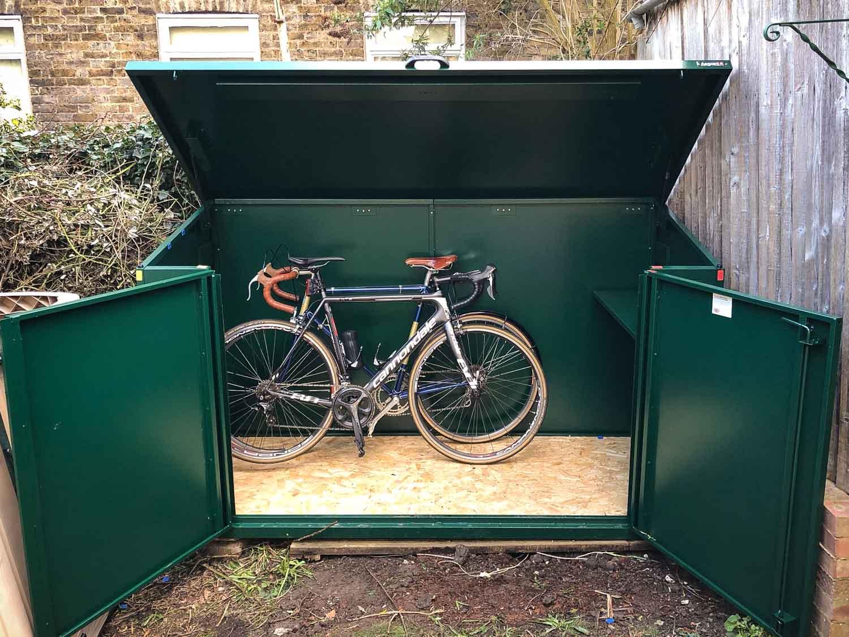 Review: Asgard Access E Plus Bike Storage  road.cc