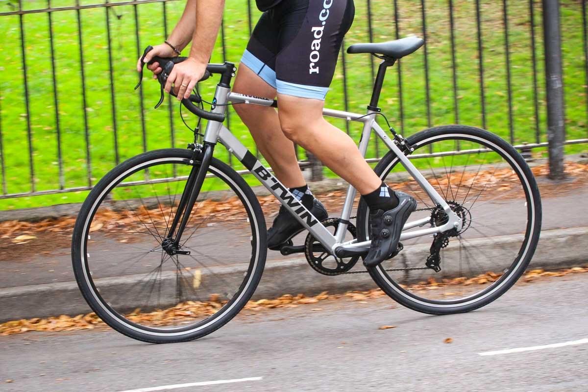 5c73e5a08 Review  B Twin Triban 100 Road Bike