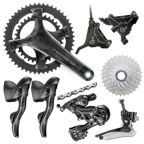 Review Campagnolo Record 12 Speed Disc Groupset