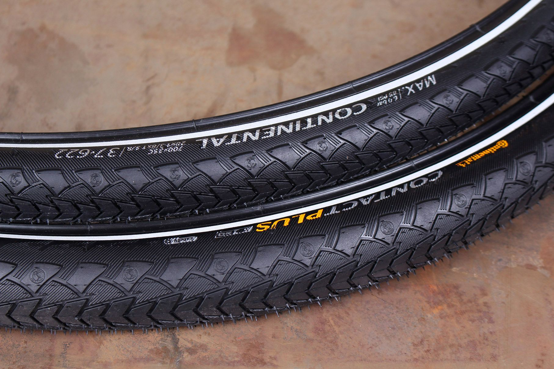 Continental Ride Tour Rigid 700 x 42mm Bike Bicyle Tyre Black