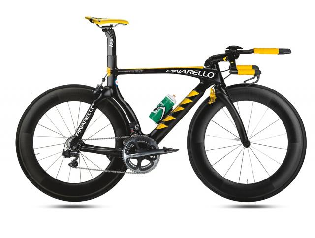 Pinarello have various yellow paint schemes on their 2013 bikes 712654d75