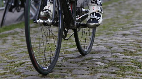 It s only when you ride the cobbles that you can really fully appreciate  how hard racing over these poorly maintained roads must be for the pros. db17d7856