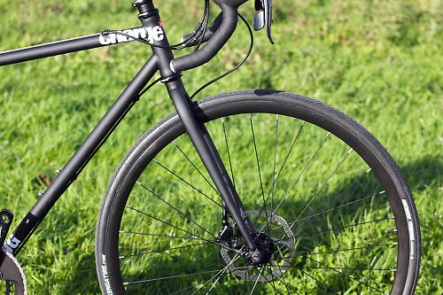 There S A Pleasing Lack Of Noisy Logos On The Plug 5 Charge Trait And That Is Also Carried Over Into Wheelset With Discrete All Black Alex Atd 490