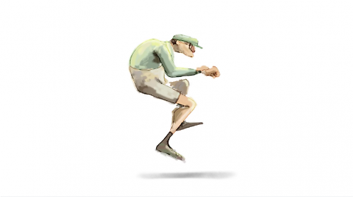cycle a short cycling animation