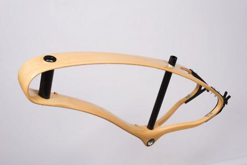 Czech designer Jan produces stunning wooden bike + video | road.cc