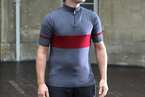 ef8732992 Meccanica make their jerseys from Italian Merino and they stitch them  together in the UK. This Marl Casual Retro is